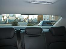 フィルム施工後の車内からの視界 title=フィルム施工後の車内からの視界